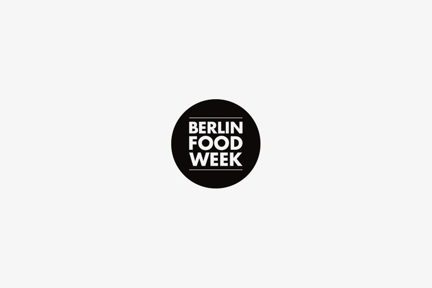 BERLIN FOOD WEEK 15